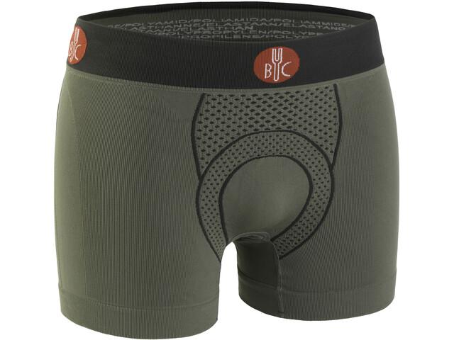 FOR.BICY Urban Life Gevoerde Boxershorts Heren, sage green/anthracite